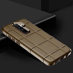 Coque Ultra Fine Silicone Souple 360 Degres Housse Etui pour Xiaomi Redmi Note 8 Pro Marron