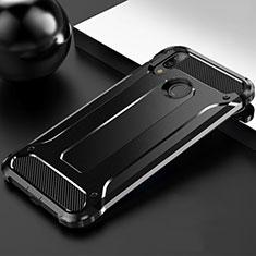Coque Ultra Fine Silicone Souple 360 Degres Housse Etui S01 pour Huawei Enjoy 9 Plus Noir