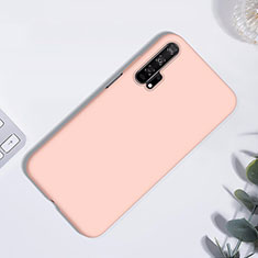 Coque Ultra Fine Silicone Souple 360 Degres Housse Etui S01 pour Huawei Honor 20 Pro Or Rose