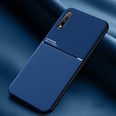 Coque Ultra Fine Silicone Souple 360 Degres Housse Etui S01 pour Huawei Honor 9X Bleu
