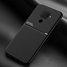 Coque Ultra Fine Silicone Souple 360 Degres Housse Etui S01 pour Huawei Mate 30 Lite Noir