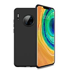 Coque Ultra Fine Silicone Souple 360 Degres Housse Etui S01 pour Huawei Mate 30 Noir