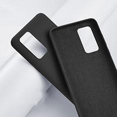 Coque Ultra Fine Silicone Souple 360 Degres Housse Etui S01 pour Huawei P40 Noir