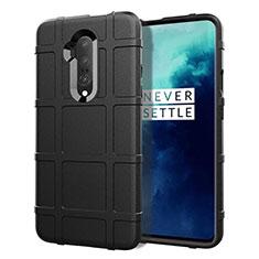 Coque Ultra Fine Silicone Souple 360 Degres Housse Etui S01 pour OnePlus 7T Pro Noir