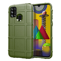 Coque Ultra Fine Silicone Souple 360 Degres Housse Etui S01 pour Samsung Galaxy M21s Vert