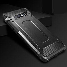 Coque Ultra Fine Silicone Souple 360 Degres Housse Etui S01 pour Samsung Galaxy S10e Noir