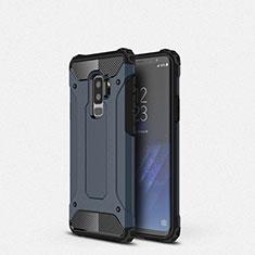 Coque Ultra Fine Silicone Souple 360 Degres Housse Etui S01 pour Samsung Galaxy S9 Plus Bleu