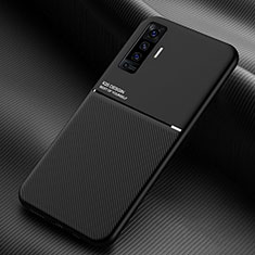 Coque Ultra Fine Silicone Souple 360 Degres Housse Etui S01 pour Vivo X50 5G Noir