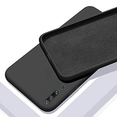 Coque Ultra Fine Silicone Souple 360 Degres Housse Etui S01 pour Xiaomi Mi 10 Noir