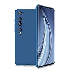 Coque Ultra Fine Silicone Souple 360 Degres Housse Etui S01 pour Xiaomi Mi 10 Pro Bleu