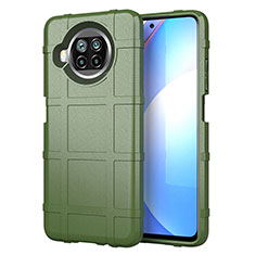Coque Ultra Fine Silicone Souple 360 Degres Housse Etui S01 pour Xiaomi Mi 10i 5G Vert Armee