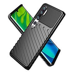 Coque Ultra Fine Silicone Souple 360 Degres Housse Etui S01 pour Xiaomi Mi Note 10 Pro Noir