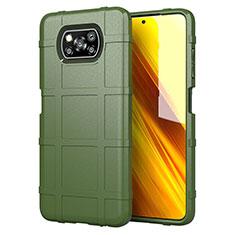 Coque Ultra Fine Silicone Souple 360 Degres Housse Etui S01 pour Xiaomi Poco X3 NFC Vert