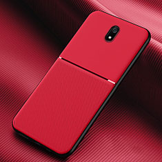 Coque Ultra Fine Silicone Souple 360 Degres Housse Etui S01 pour Xiaomi Redmi 8A Rouge