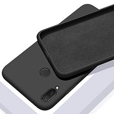 Coque Ultra Fine Silicone Souple 360 Degres Housse Etui S01 pour Xiaomi Redmi Note 7 Noir
