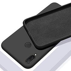 Coque Ultra Fine Silicone Souple 360 Degres Housse Etui S01 pour Xiaomi Redmi Note 7 Pro Noir
