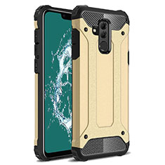 Coque Ultra Fine Silicone Souple 360 Degres Housse Etui S02 pour Huawei Mate 20 Lite Or