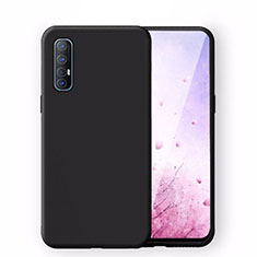 Coque Ultra Fine Silicone Souple 360 Degres Housse Etui S02 pour Oppo Find X2 Neo Noir