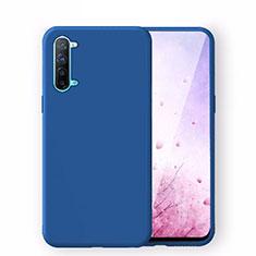 Coque Ultra Fine Silicone Souple 360 Degres Housse Etui S02 pour Oppo K7 5G Bleu