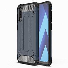 Coque Ultra Fine Silicone Souple 360 Degres Housse Etui S02 pour Samsung Galaxy A70 Bleu
