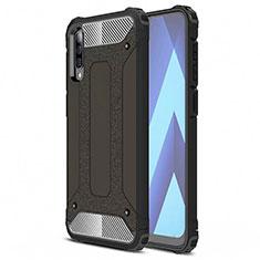 Coque Ultra Fine Silicone Souple 360 Degres Housse Etui S02 pour Samsung Galaxy A70 Noir