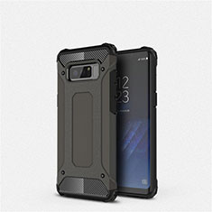 Coque Ultra Fine Silicone Souple 360 Degres Housse Etui S02 pour Samsung Galaxy Note 8 Duos N950F Noir