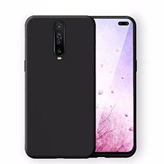 Coque Ultra Fine Silicone Souple 360 Degres Housse Etui S02 pour Xiaomi Redmi K30 5G Noir