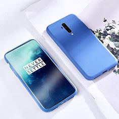 Coque Ultra Fine Silicone Souple 360 Degres Housse Etui S03 pour OnePlus 7T Pro Bleu