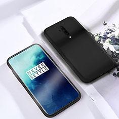 Coque Ultra Fine Silicone Souple 360 Degres Housse Etui S03 pour OnePlus 7T Pro Noir