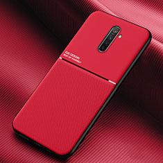 Coque Ultra Fine Silicone Souple 360 Degres Housse Etui S03 pour Realme X2 Pro Rouge