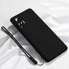 Coque Ultra Fine Silicone Souple 360 Degres Housse Etui S03 pour Vivo X51 5G Noir