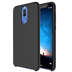 Coque Ultra Fine Silicone Souple 360 Degres Housse Etui S04 pour Huawei Mate 10 Lite Noir