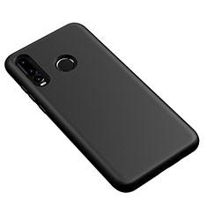Coque Ultra Fine Silicone Souple 360 Degres Housse Etui S04 pour Huawei P30 Lite Noir