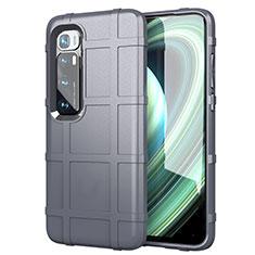 Coque Ultra Fine Silicone Souple 360 Degres Housse Etui S05 pour Xiaomi Mi 10 Ultra Gris