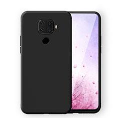 Coque Ultra Fine Silicone Souple 360 Degres Housse Etui S06 pour Huawei Mate 30 Lite Noir