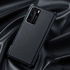 Coque Ultra Fine Silicone Souple 360 Degres Housse Etui S06 pour Huawei P40 Noir