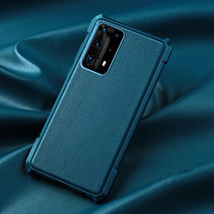 Coque Ultra Fine Silicone Souple 360 Degres Housse Etui S06 pour Huawei P40 Pro+ Plus Bleu