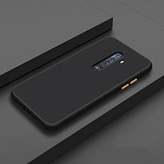 Coque Ultra Fine Silicone Souple 360 Degres Housse Etui S06 pour Oppo Reno2 Noir