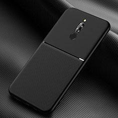 Coque Ultra Fine Silicone Souple 360 Degres Housse Etui S06 pour Xiaomi Redmi 8 Noir