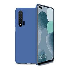 Coque Ultra Fine Silicone Souple 360 Degres Housse Etui T01 pour Huawei Nova 6 5G Bleu