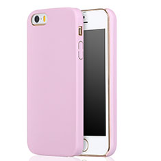 Coque Ultra Fine Silicone Souple 360 Degres pour Apple iPhone 5S Rose