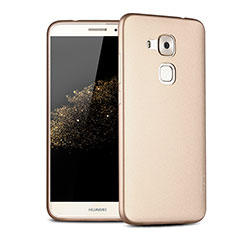 Coque Ultra Fine Silicone Souple 360 Degres pour Huawei G9 Plus Or