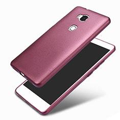 Coque Ultra Fine Silicone Souple 360 Degres pour Huawei GR5 Violet