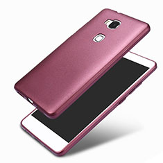 Coque Ultra Fine Silicone Souple 360 Degres pour Huawei Honor 5X Violet