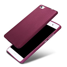 Coque Ultra Fine Silicone Souple 360 Degres pour Huawei P8 Lite Violet