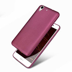 Coque Ultra Fine Silicone Souple 360 Degres pour Huawei Y6 II 5.5 Violet