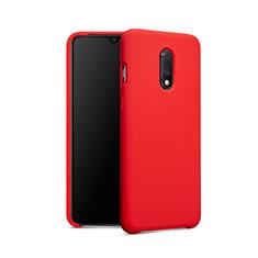 Coque Ultra Fine Silicone Souple 360 Degres pour OnePlus 7 Rouge