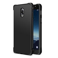 Coque Ultra Fine Silicone Souple 360 Degres pour Samsung Galaxy J7 Plus Noir