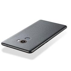 Coque Ultra Fine Silicone Souple 360 Degres pour Xiaomi Mi Mix 2 Gris