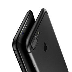 Coque Ultra Fine Silicone Souple A01 pour Apple iPhone 7 Plus Noir